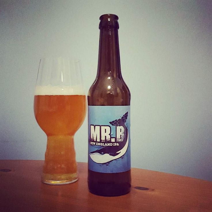 Mr. B New England IPA von der @buddelship_brauerei #hamburg  #craftbeer #craftbier #buddelship #ipa #indiapaleale #neipa #beerporn #instabeer #beerstagram #craftbeerlife #craftbeerporn #kiel #beerpics #cheers #prost