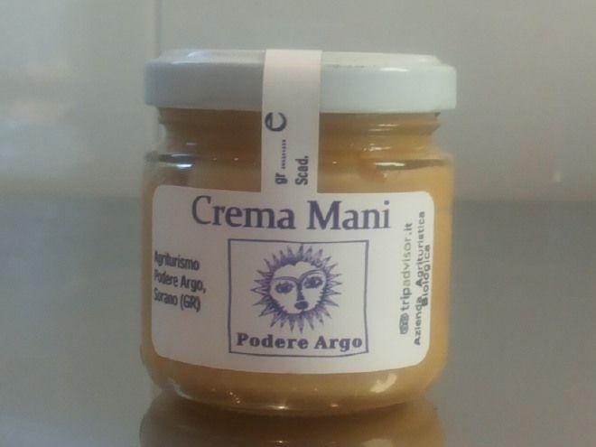 Crema Mani alla cera d'api, miele, olio extra vergine d'olivo e olio essenziale di lavanda