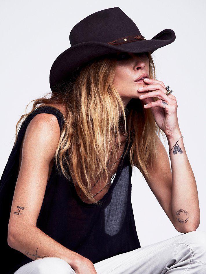 Résultat d'image pour chapeau de cowboy sloane   – Clothes