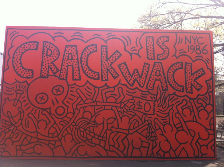62 best images about home on pinterest jazz new york for Crack is wack keith haring mural