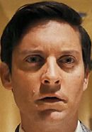 Tobey Maguire as Bobby Fischer in the Pawn Sacrifice chess movie. Read 'Pawn Sacrifice: History vs. Hollywood' - http://www.historyvshollywood.com/reelfaces/pawn-sacrifice/