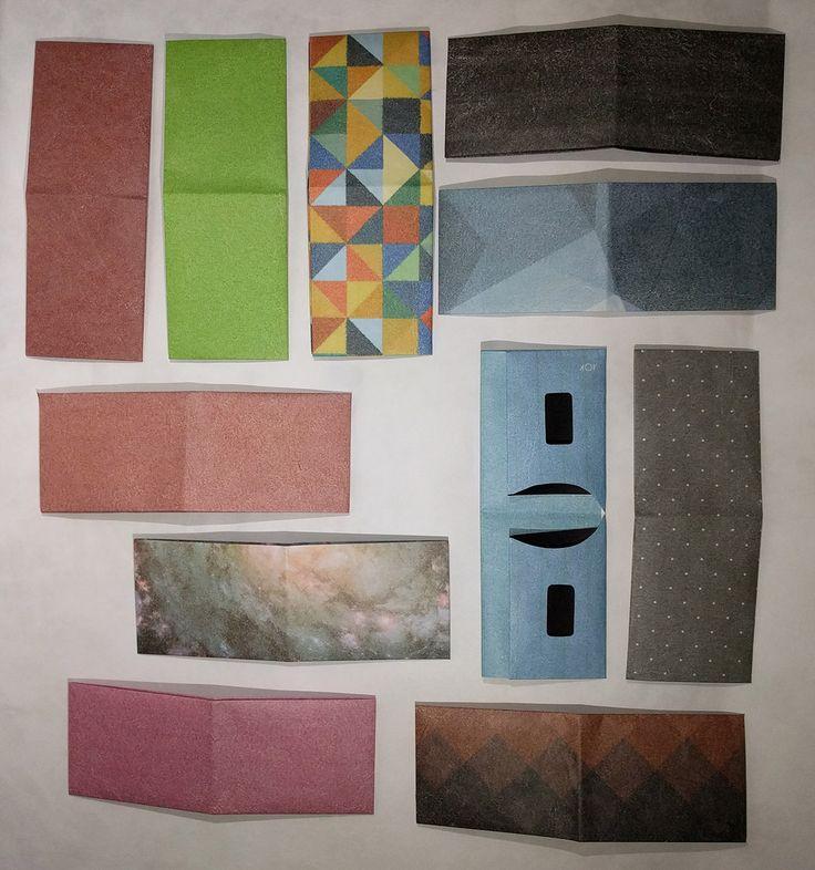 Conheça a carteira Dobra. Muito fina, feita de um material parecido ao papel, que não rasga e é resistente à água. E o melhor: 100% feita à mão.