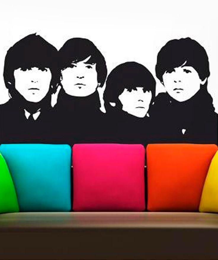 The Beatles - Vinilo Adhesivo, decoración de paredes. $98.300 COP. Encuentra más vinilos adhesivos en www.giferent.com/vinilos-decorativos-adhesivos