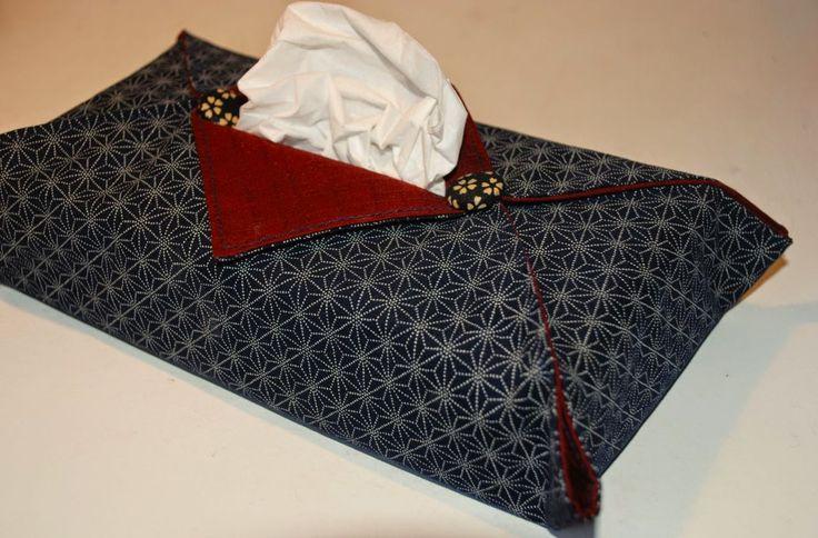 NORIKO handmade. Handgefertigte Unikate aus japanischen Stoffen.: DIY Nähanleitung: Überzug für Kosmetiktücherbox