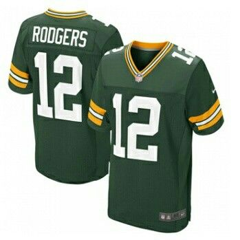 Aaron Rodgers Green Bay Packers Nike Elite Jersey