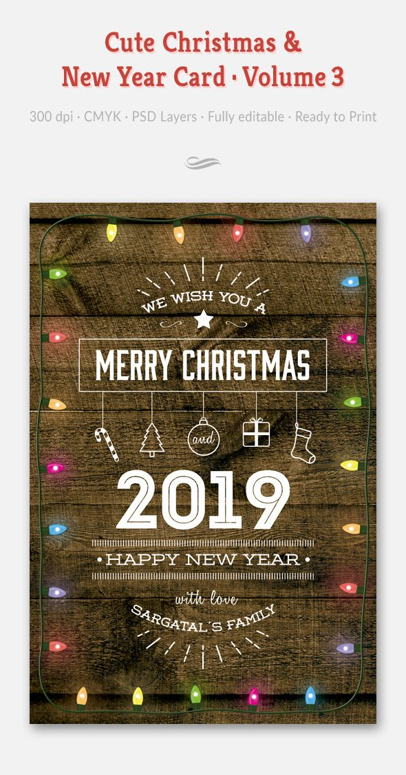 Cute Christmas And New Year Card Volume 03 Disenos De Unas