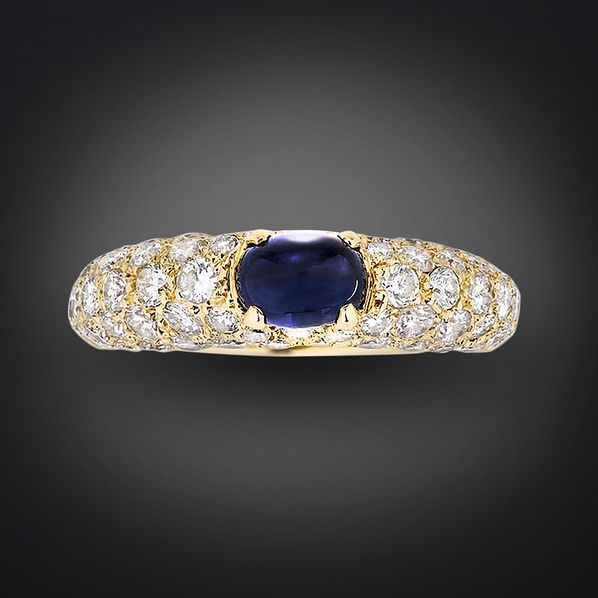 Cartier Cabochon Sapphire Ring