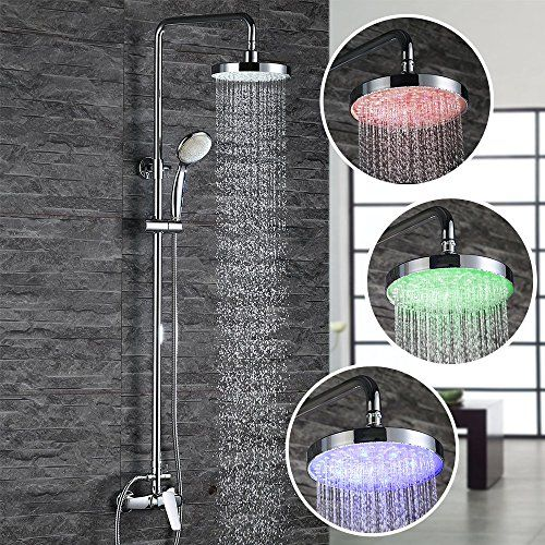 8 besten faucets and showers   brause and wasserhahn with LED - wasserhahn küche mit brause