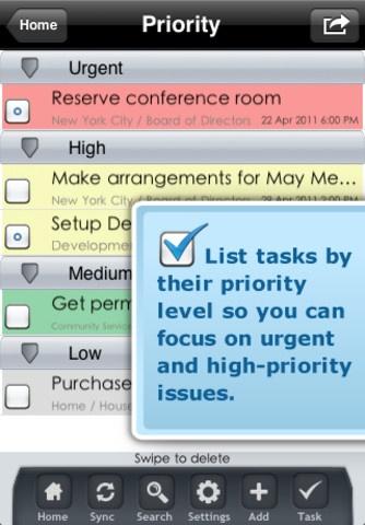 iPad en entreprise: PowerMe HD. Outil pro de gestion de projet