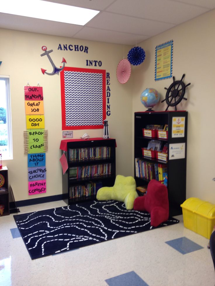 Classroom Library Decor ~ Best images about nautical on pinterest