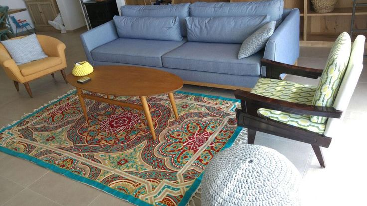 Mandala rug, 4x6 area rug, turquoise area rug,area rug for sale,affordable area rugs,oriental rugs for sale,room size rugs, FREE SHIPPING! by Carpetism on Etsy