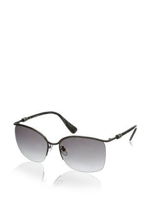 70% OFF Lanvin Women's Half Rim Frame Sunglasses, Antique Pewter