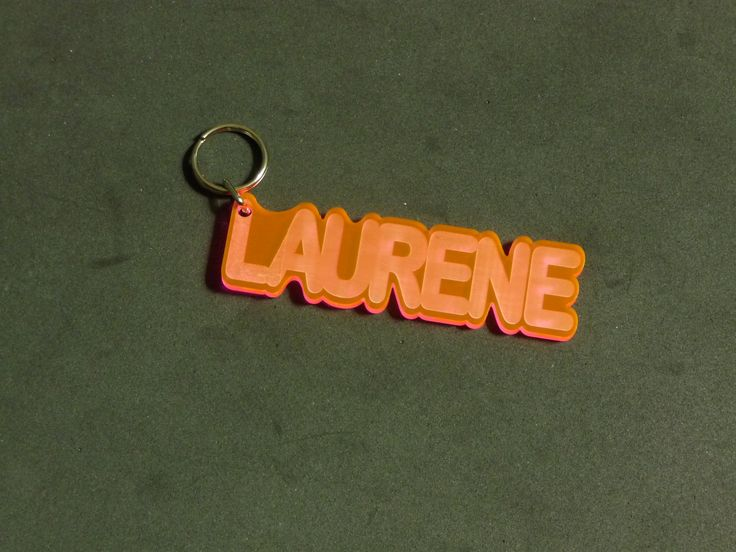 Personalized Acrylic #KeyChains by Unique LED Products