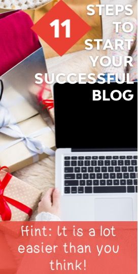 Here are the 11 steps that you need in order to start a successful blog in 10 days or less. #bloggingtips #blogging #girlboss #entrepreneurship
