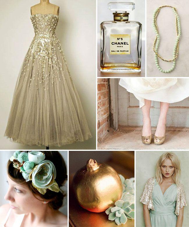 Beautiful champagne dress