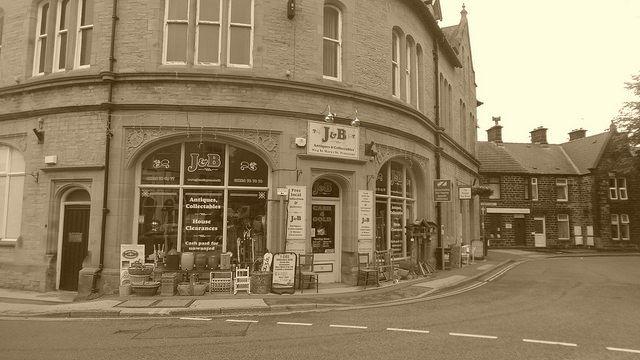 Penistone - J&B Antiques shop (Church st) - Aug 2016 | Flickr