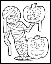 537 best Halloween Coloring Pages images on Pinterest