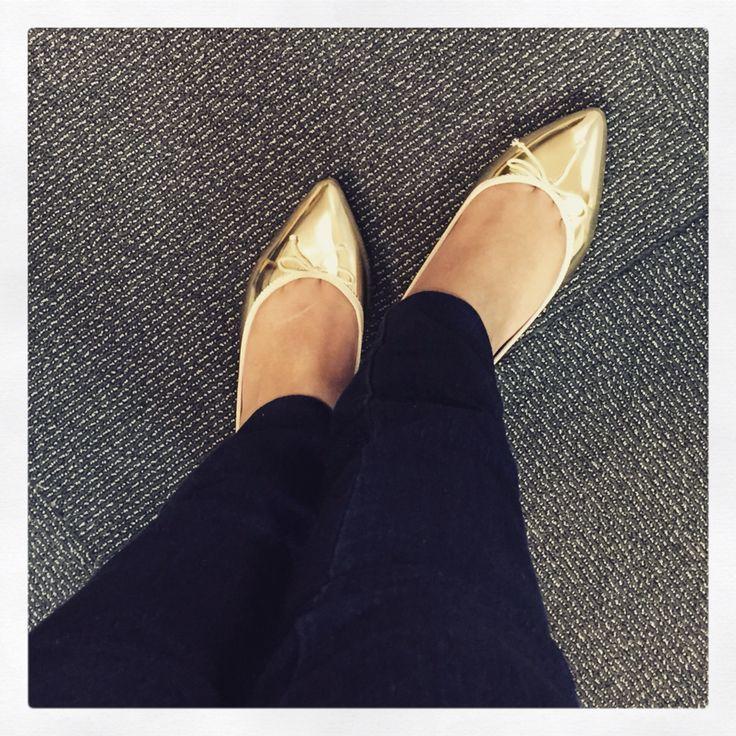 My shiny shoes