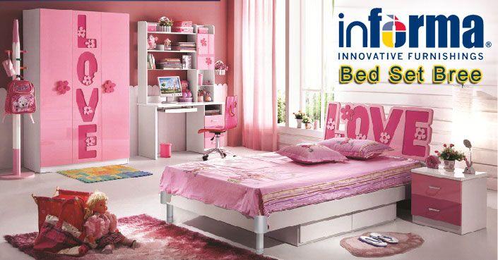 Bree bed set | informa.co.id