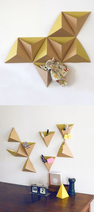 Pyramid Cardboard Storage Boxes