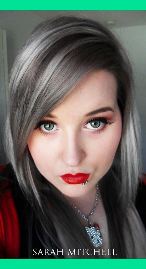 Silver Hair | Sarah M.'s (sarahmitchellmakeup) Photo | Beautylish