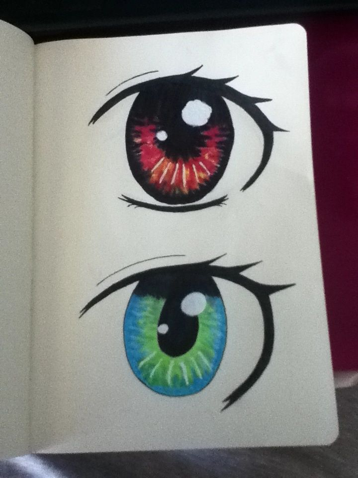 Eye shading practice and stuff. Tutorial by someone on YouTube.