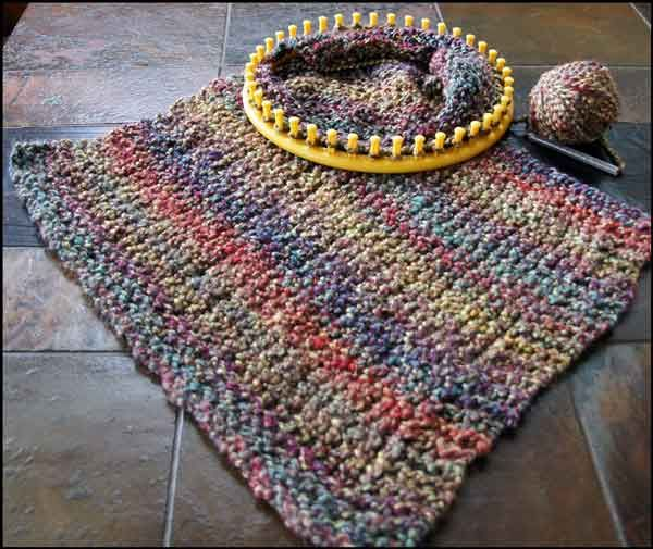 Knitting With Looms Sweater In Progress Loom Knitting