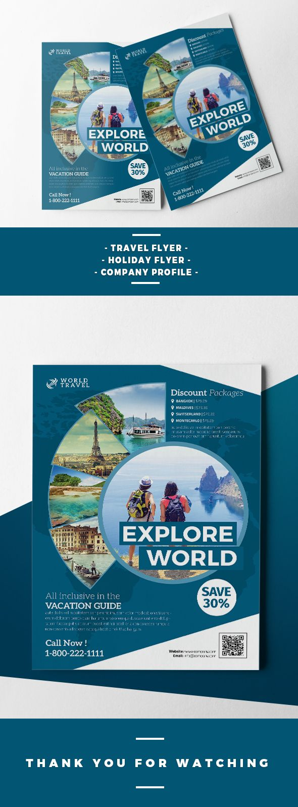 httpswwwbehancenetgallery41711425Travel 25 best Flyer Templates images on
