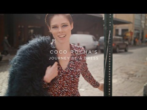 Wilhelmina Models: Watch Journey of a Dress, featuring Coco Rocha wearing Diane von Furstenberg's iconic wrap dress. - See more at: wilhelminanews.com