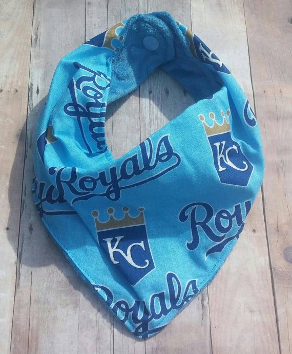 Check out this item in my Etsy shop https://www.etsy.com/listing/272773268/kansas-city-royals-mlb-bandana-bib