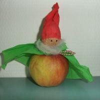 Appelkabouter, een gezonde leuke traktatie!