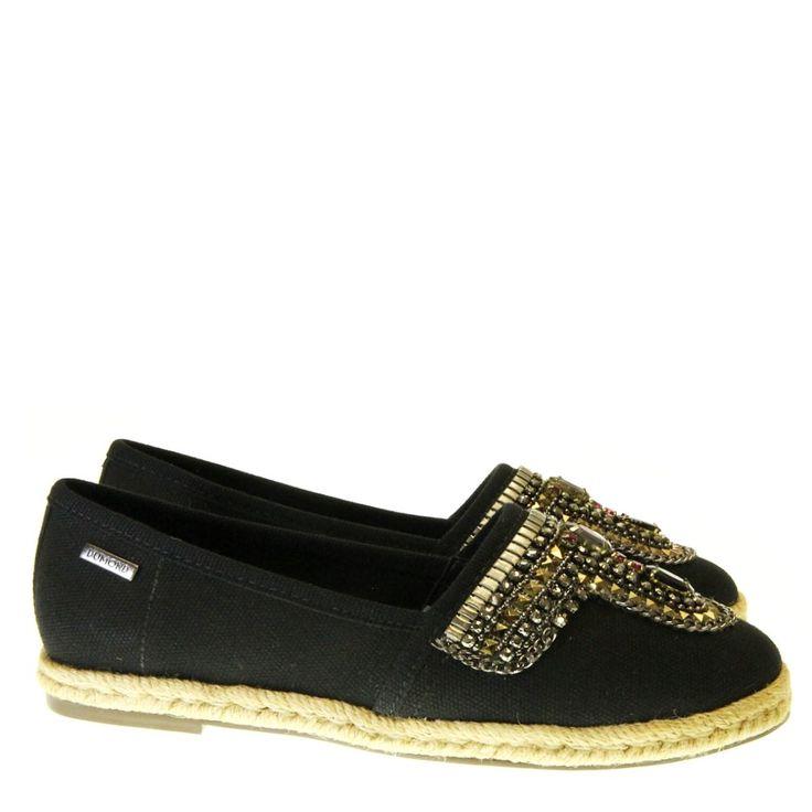 Sapatilha Espadrille Preta 1631 Dumond para Moselle | Moselle sapatos finos feminos! Moselle sua boutique online.