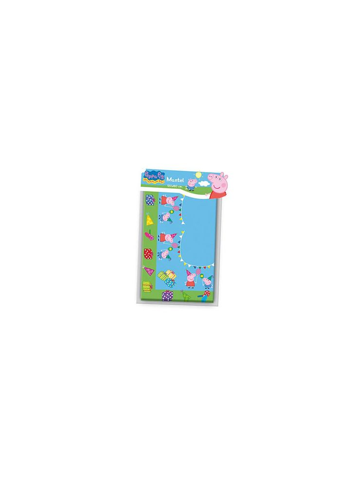 Peppa Pig Table Cover - Peppa Pig and Themed Tableware Party Supplies
