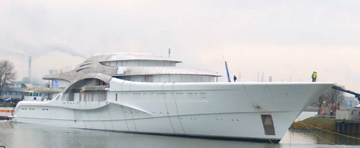 Feadship 110 meter project #1007 is the new yacht for Dmitry Rybolovlev