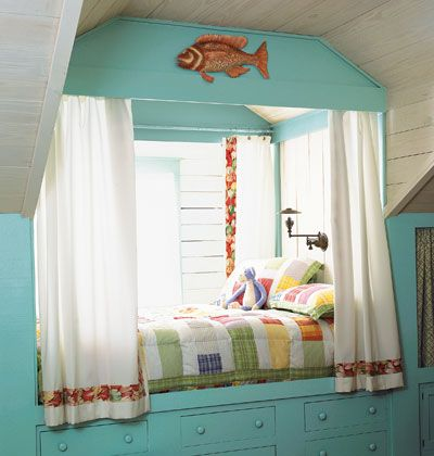 lovely guest/reading nook: Kids Beds, Dormer Window, Builtin Beds, Tiny House, Reading Nooks, Beaches Houses, Guest Rooms, Kids Rooms, Built In Beds