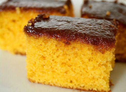 Tarta de zanahoria brasileña. - Brasilian carrot cake recipie.