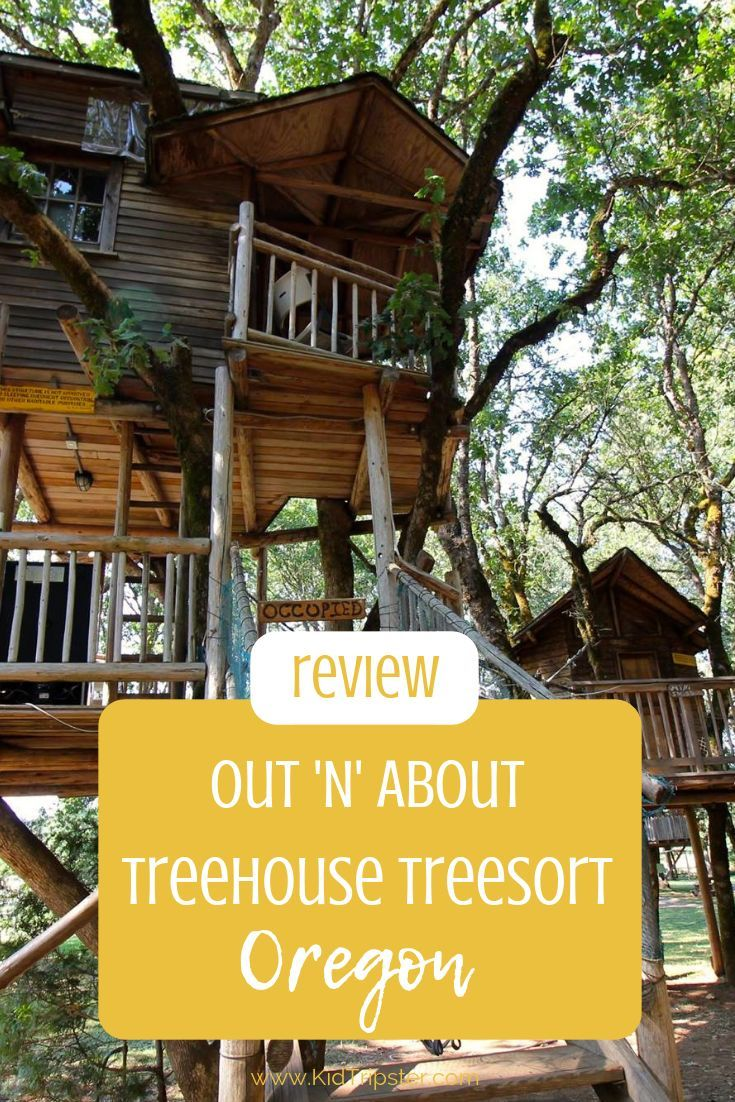 Out N About Treehouse Treesort Oregon Treehouse Vacations Tree