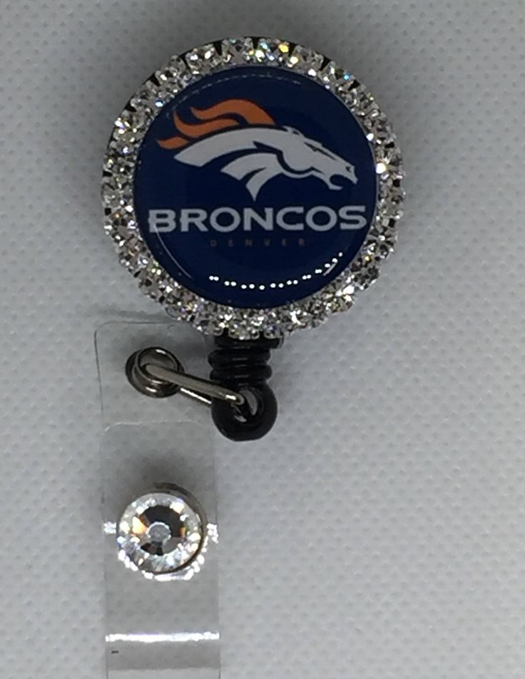 Excited to share the latest addition to my #etsy shop: Broncos ID holder badge reel/ retractable id holder badge reel/ nurse gifts/ RN ID holder/ nurse id holder/ teacher id holder http://etsy.me/2CTRgHT #accessories #broncosidholder #broncosbadgereel #denverbroncos #n