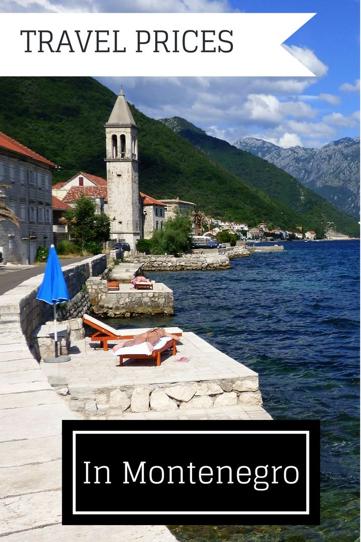 Tips on travel prices in Montenegro
