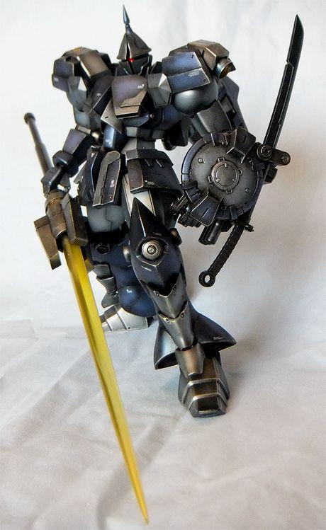 ギャンクリーガー風(HGUCギャン改修)