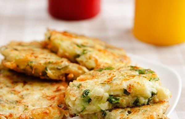 Cutlets from zucchini