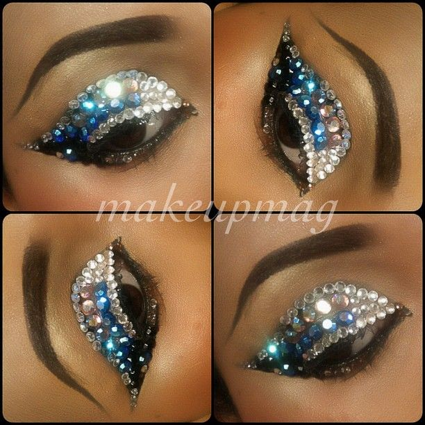74 best crystal body tattoos images on pinterest make up for Crystal eye tattoos