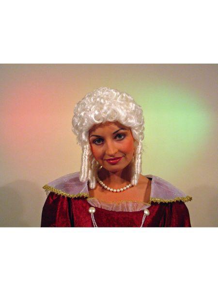 "https://11ter11ter.de/9222629.html Damen Perücke ""Funkenmariechen"" mit Löckchen #11ter11ter #haare #perücke #locken #barock #fasching #karneval"