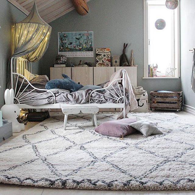 Godmorgon! Här ser ni en bättre bild på den fina mattan från @ellosofficial . Tanger i storlek 2×3 meter.  Inlägget är ett samarbete med Ellos