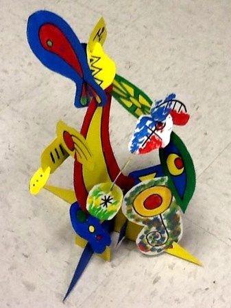 Miro' Sculpture - Artsonia Lesson Plan