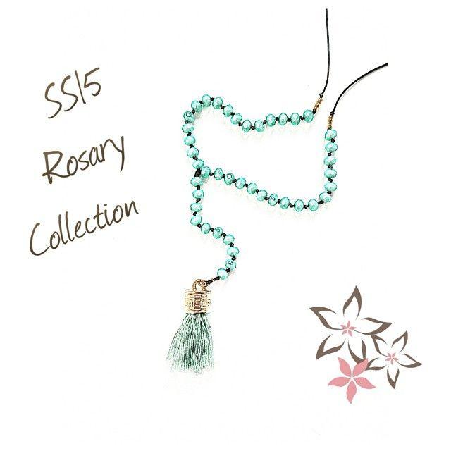 SS15 Twiniñas Rosary Collection #twiniñas #twininas #ss15 #rosary #collection #sketch #green #mint #crystals #tassel #pistachio #etsy #shop #etsyfind #etsyfashionhunter #fashion #girls #loveit...