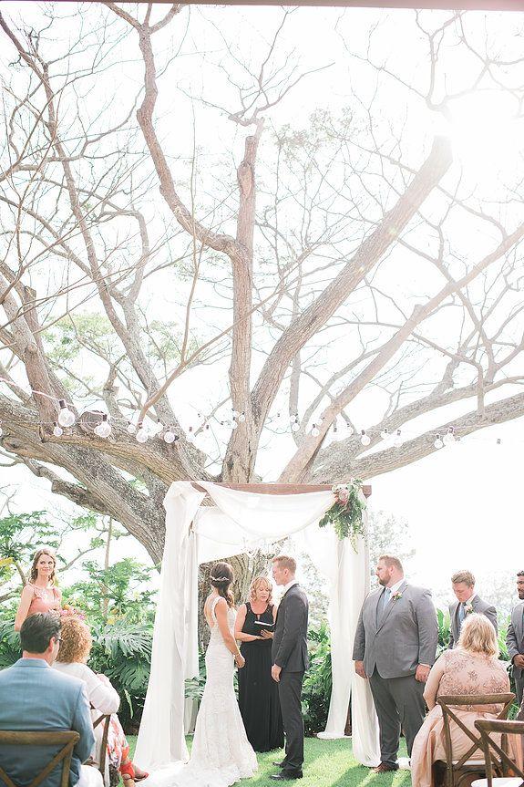 Hawaiian Wedding, Hawaii Wedding, Destination Wedding, Tropical Wedding, Modern Wedding