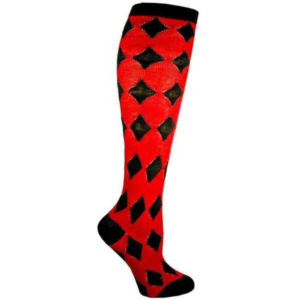 Amazon.com: RSG Hosiery Knee High Socks For Teens & Women Solids &... (€5,66) ❤ liked on Polyvore featuring intimates, hosiery, socks, argyle socks, red socks, knee high socks, knee high argyle socks and red knee high socks