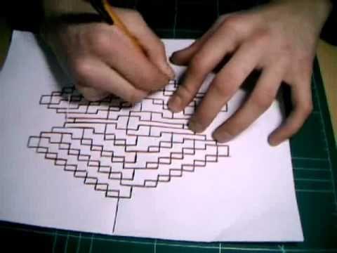 ▶ Kirigami Tutorial - Crazy X - YouTube