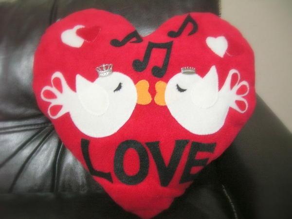 valentine day pillows